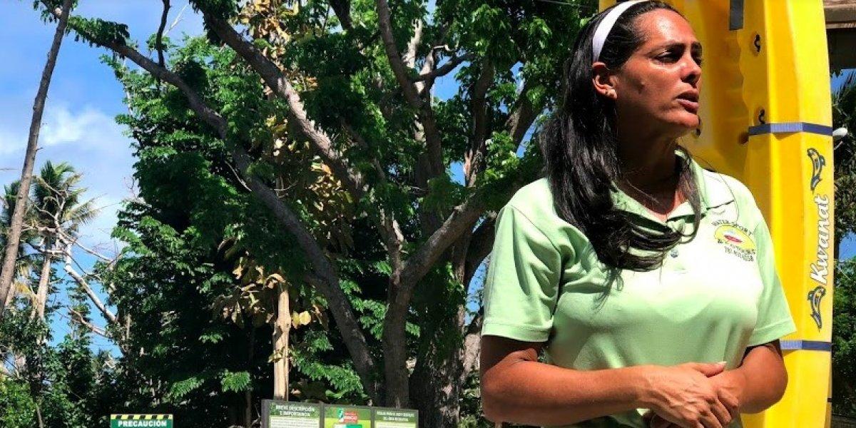Comerciantes de Punta Santiago luchan por regresar a la normalidad