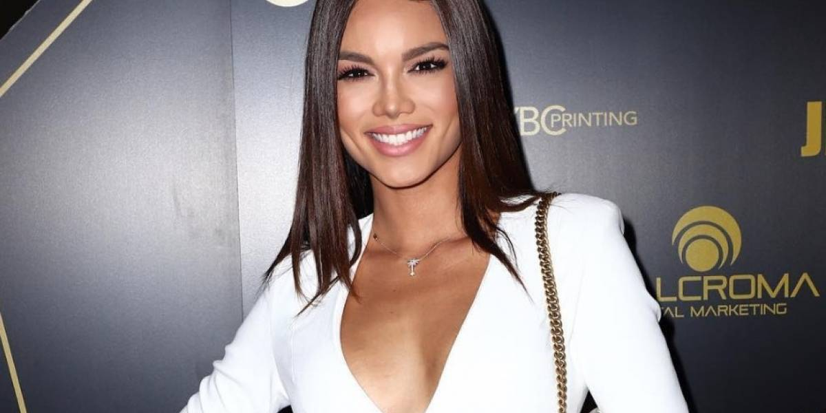 Zuleyka Rivera sufre accidente en la playa