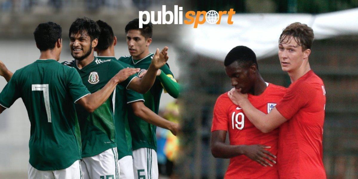México vs. Inglaterra, ¿dónde y a qué hora ver la Final de Toulon?