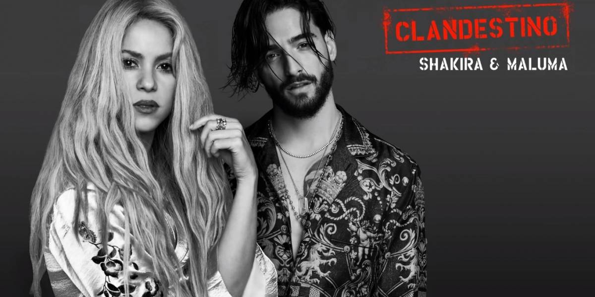 Shakira revela vídeo do making of do clipe 'Clandestino'