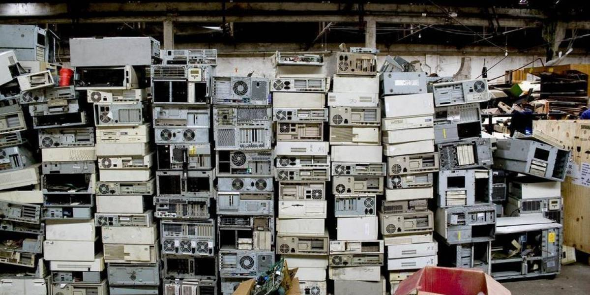 Basura electrónica en Chile: así se reciclan los computadores en Chilenter