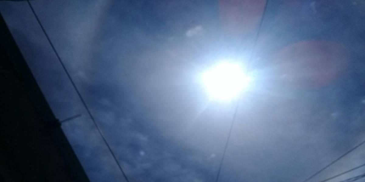México: Aparece un misterioso halo en el Sol, ¿qué está sucediendo?