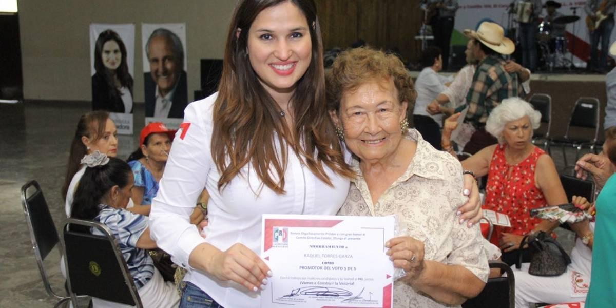 Martha de los Santos, la candidata que pernoctó en 30 hogares de NL