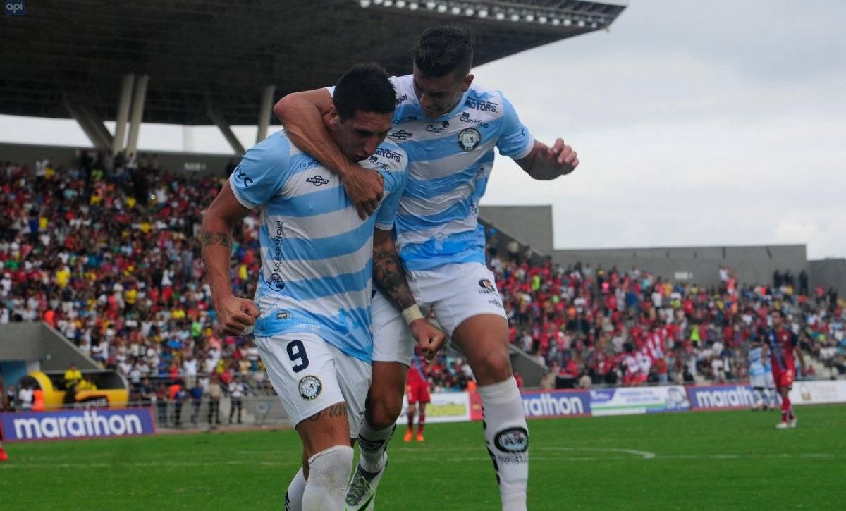 Guayaquil City ganó 2-1 a El Nacional en el estreno del nuevo césped del estadio Christian Benítez Api