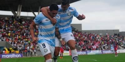 Guayaquil City ganó 2-1 a El Nacional en el estreno del nuevo césped del estadio Christian Benítez