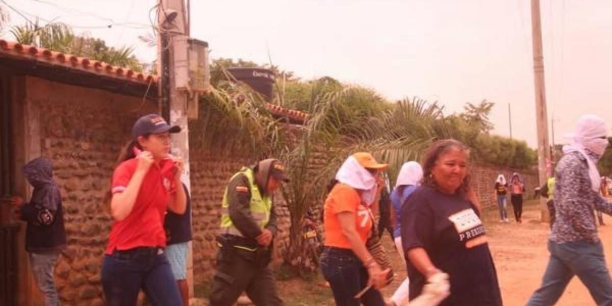 Abejas africanas atacaron un evento de Uribe en el Cesar