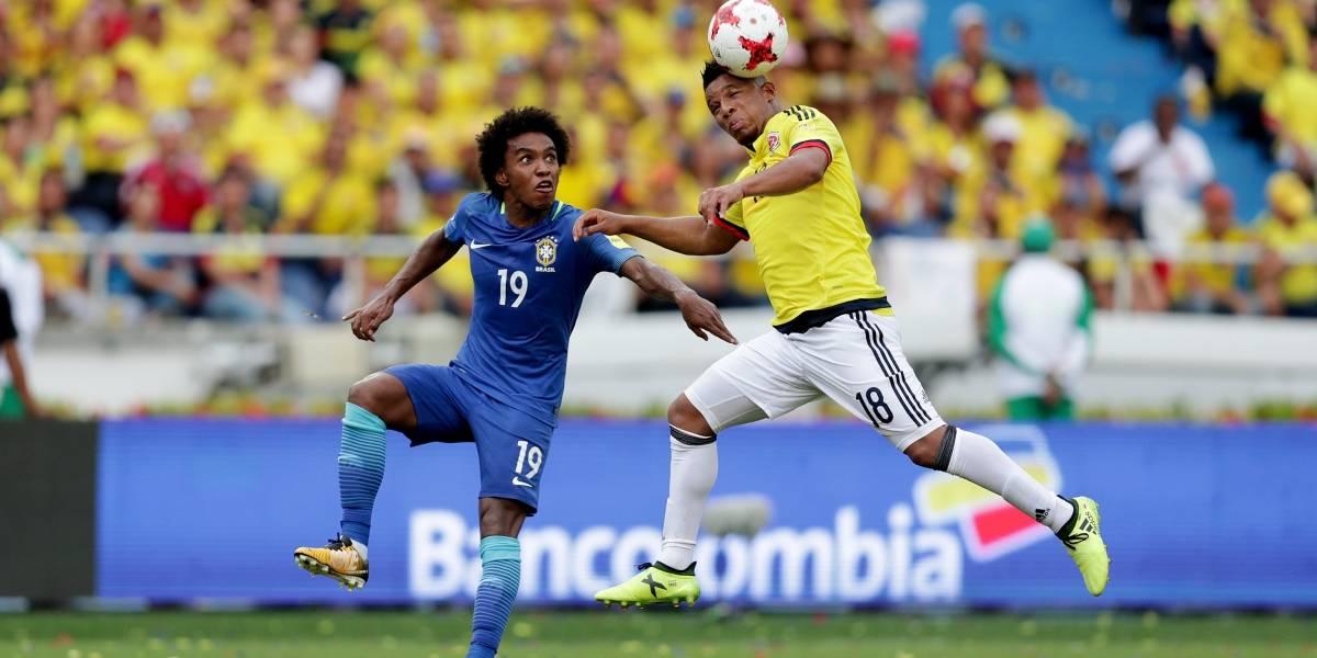 Confirmado: Farid Díaz será el reemplazo de Frank Fabra en el Mundial