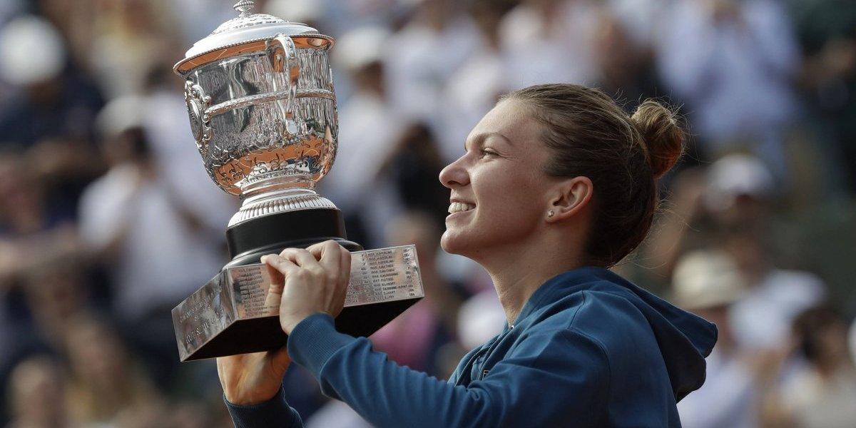 Simona Halep se corona en el Roland Garros