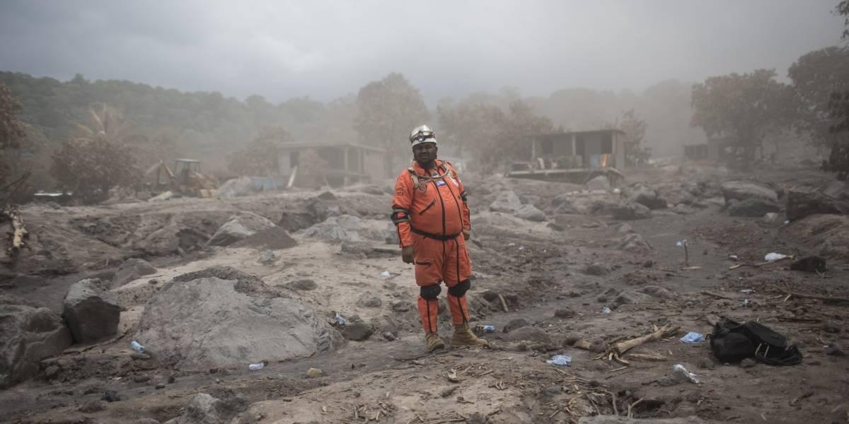 Volcán de Fuego sigue generando peligro