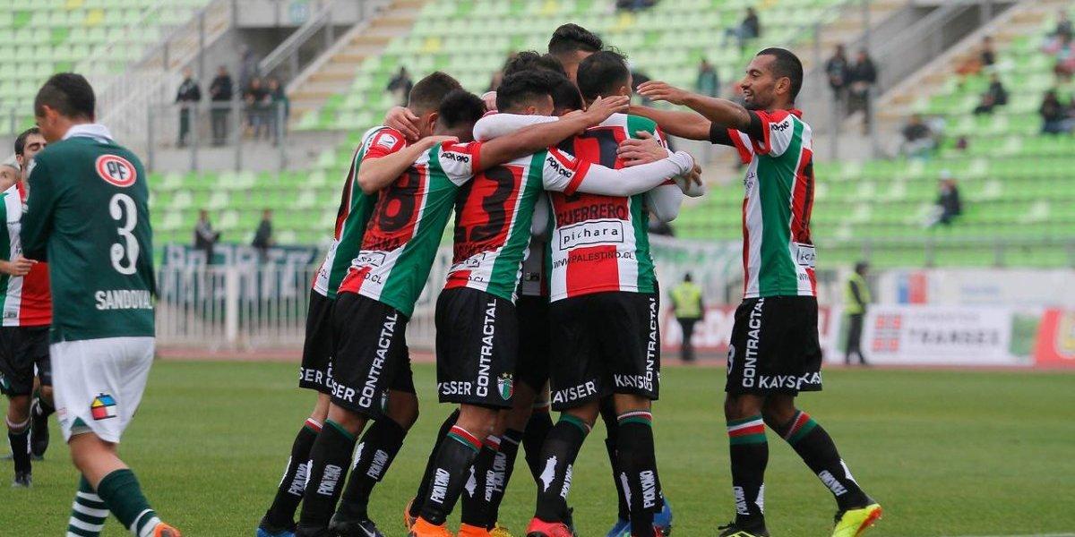 Palestino ganó en la Copa Chile y le pegó en el piso a Wanderers