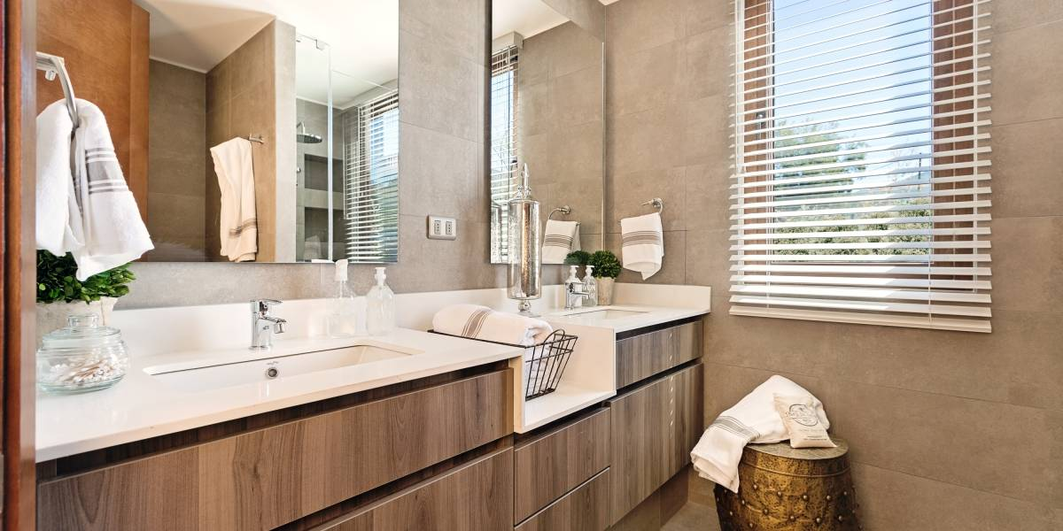 El agrado de tener un cuarto de baño bonito
