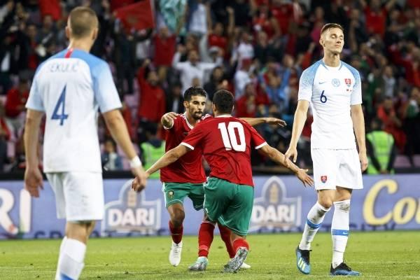 Goles de Marruecos vs Estonia partido amistoso