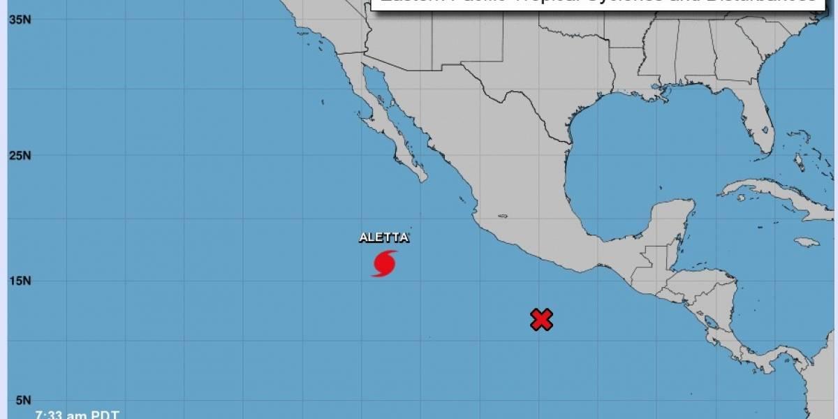 Aletta se debilita y ya es huracán categoría 2