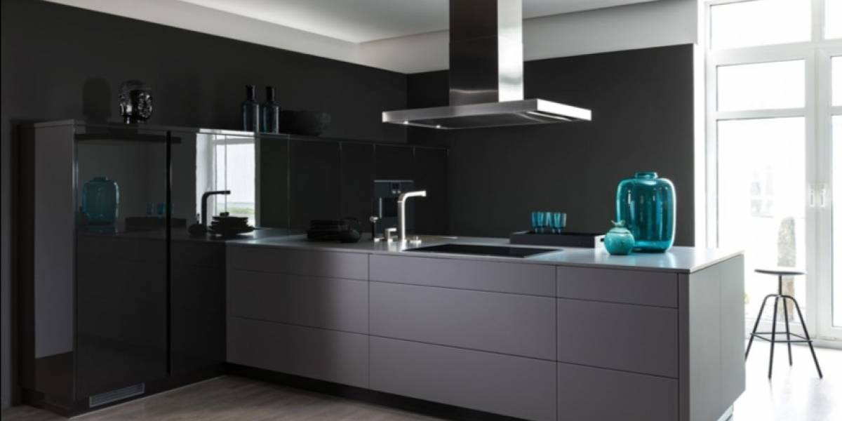 Black in black: tendencia en cocinas para este 2018