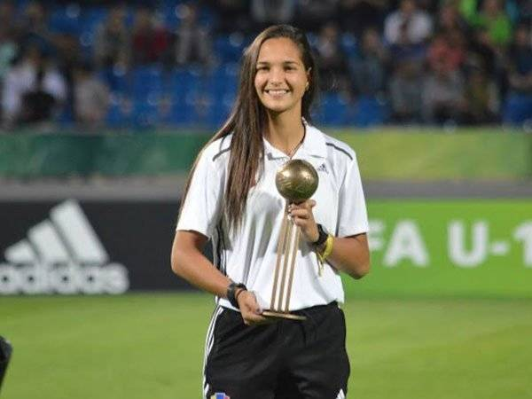 Deyna Castellanos Mundial Rusia Fifa