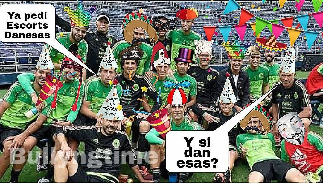 Memes, derrota de México contra Dinamarca Twitter