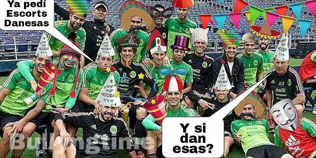 México pierde frente a Dinamarca y los memes explotaron ante el Tri