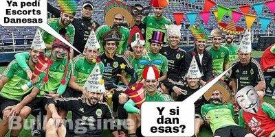 Memes, derrota de México contra Dinamarca