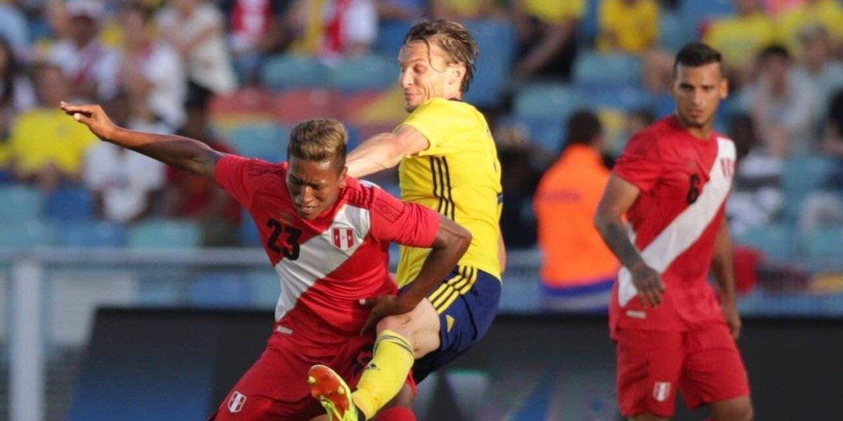 Suecia, rival en turno de México, empata ante Perú