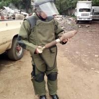 Se localiza un artefacto explosivo en Mixco.
