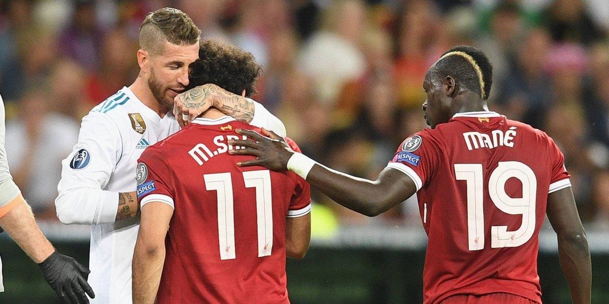 Mohamed Salah le respondió con ironía a Sergio Ramos