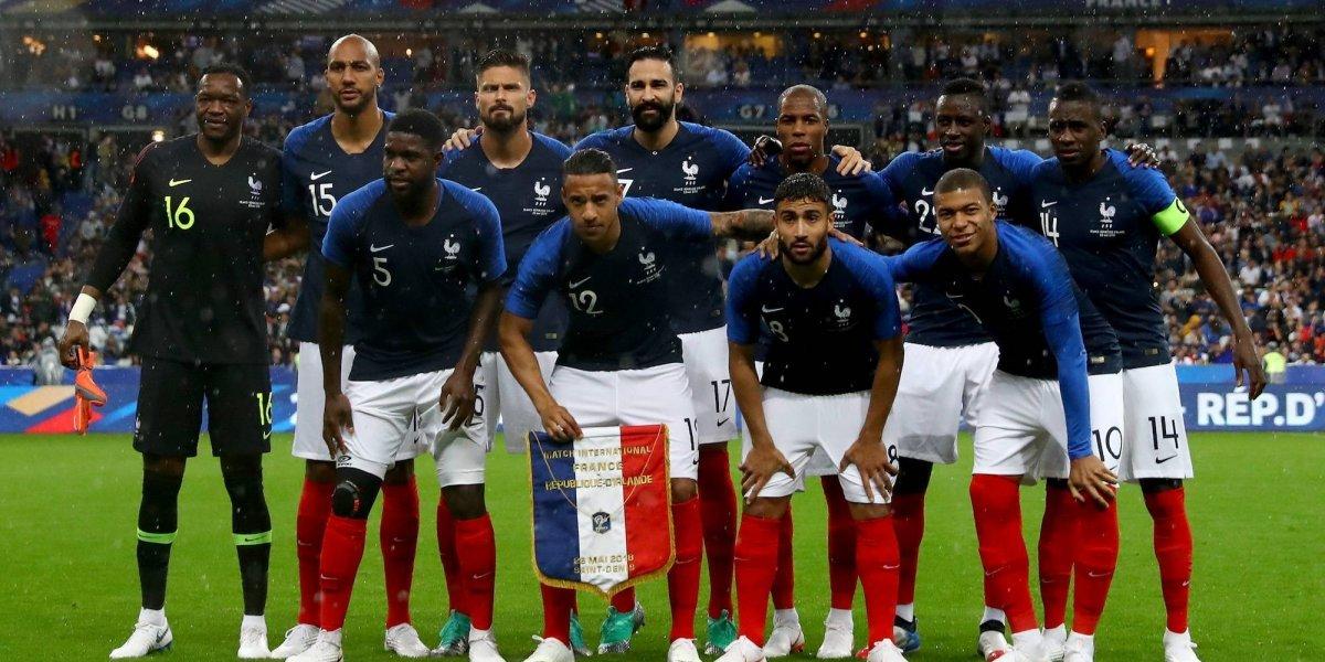 Selección de Francia cuesta 7.4 veces más que la de México