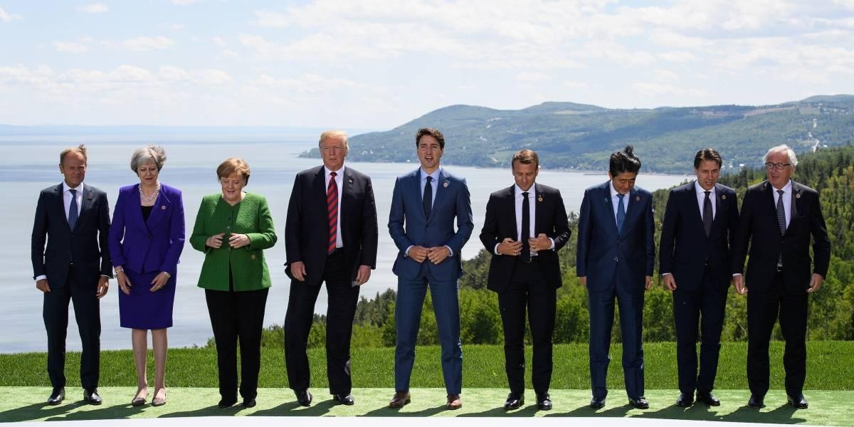 Pese a la actitud de Trump, países del G7 podrían firmar un acuerdo final