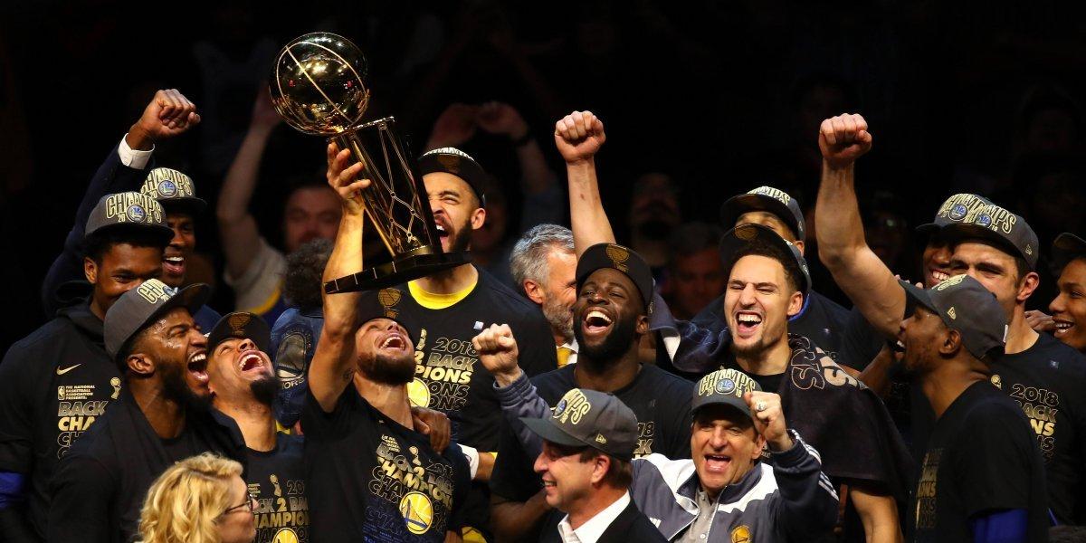 Warriors campeón de la NBA; tercer título en los últimos cuatro años