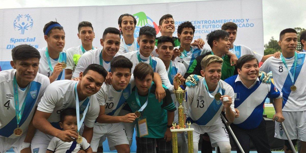 VIDEO. Guatemala campeón del Centroamericano y del Caribe del Futbol Unificado