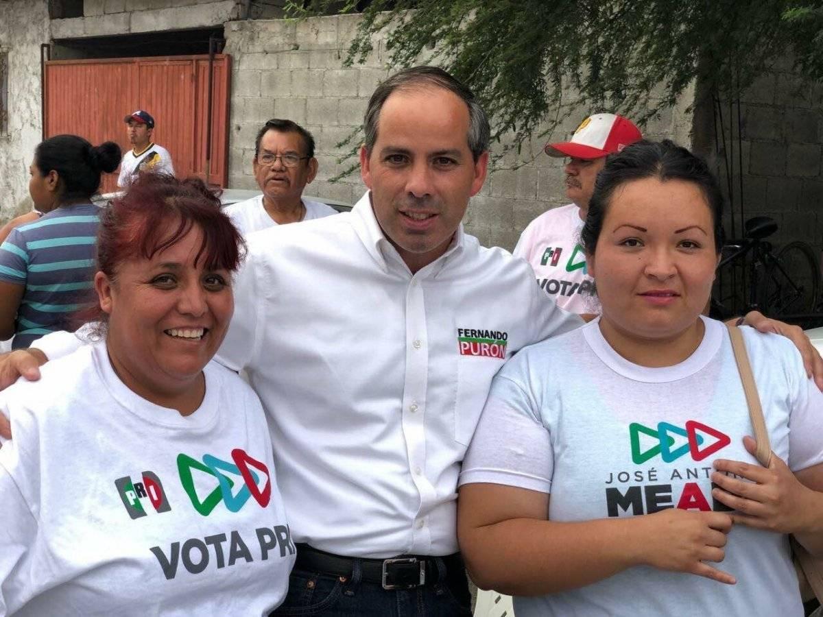 """""""Mi repudio absoluto al asesinato de Fernando Purón, candidato priísta a Diputado Federal en Coahuila"""", escribió José Antonio Meade"""