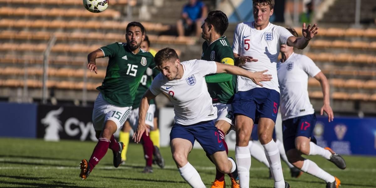 México no pudo con Inglaterra y perdió la final en Toulon