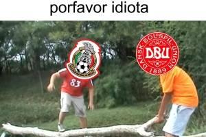 memes, derrota de México sobre Dinamarca