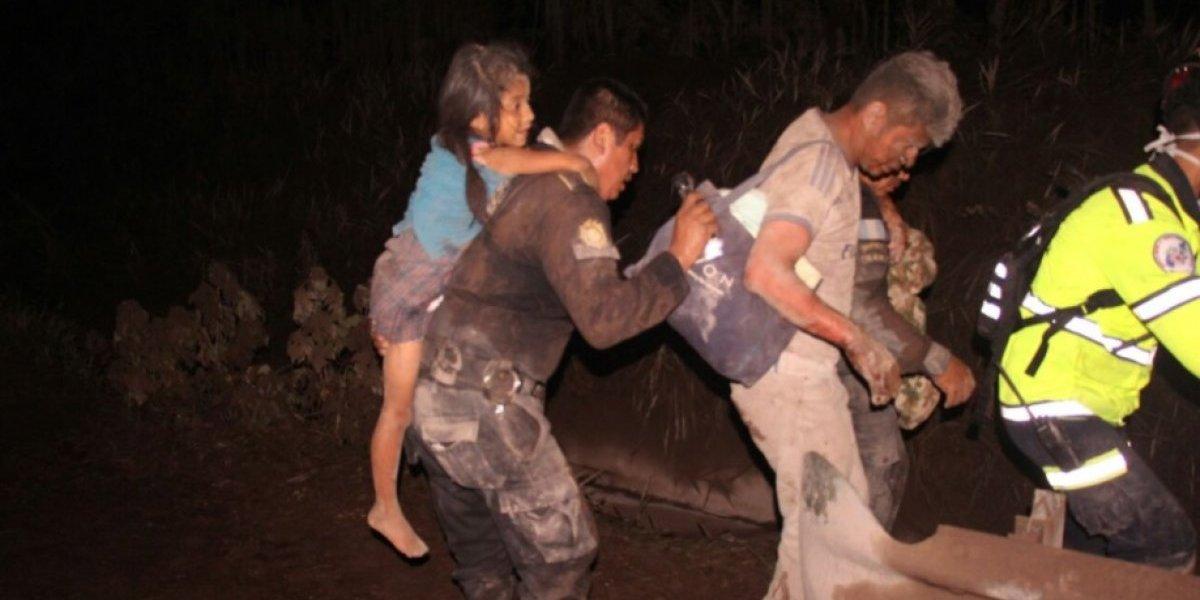 Con emotivo mensaje, PNC agradece a los guatemaltecos por la comida e hidratación