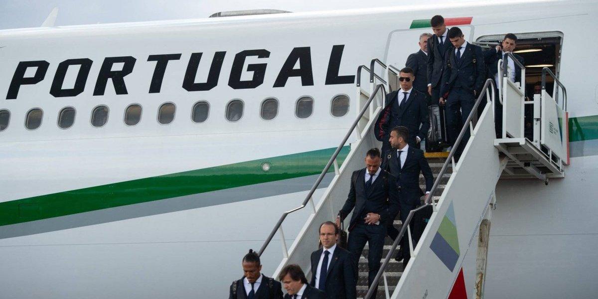 La Selección de Portugal y Cristiano Ronaldo llegan a Rusia para el Mundial 2018