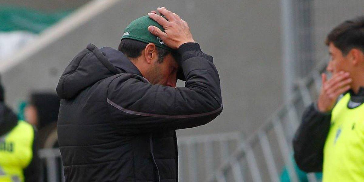 """Moisés Villarroel teme lo peor en Wanderers: """"Si no recapacitamos, vamos a terminar jugando en la tierra"""""""