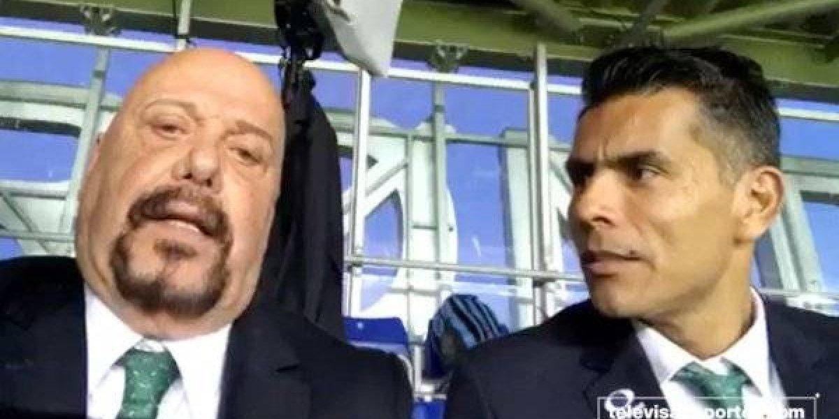 VIDEO: El 'Perro' Bermúdez le da con todo a Juan Carlos Osorio