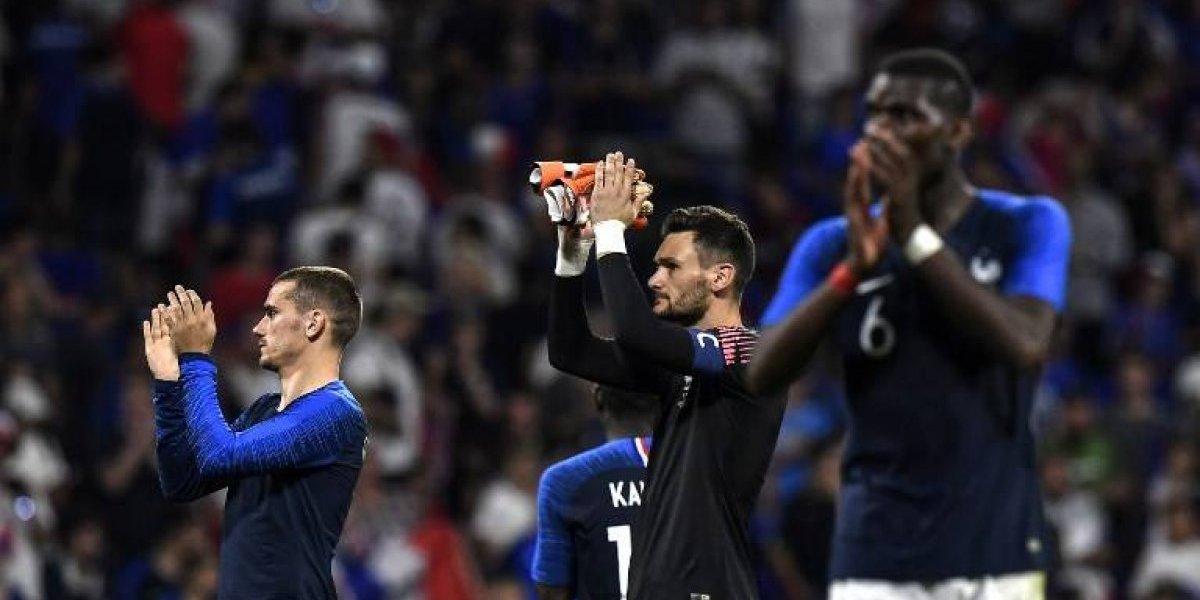 Francia deja muchas dudas en su último amistoso previo al Mundial