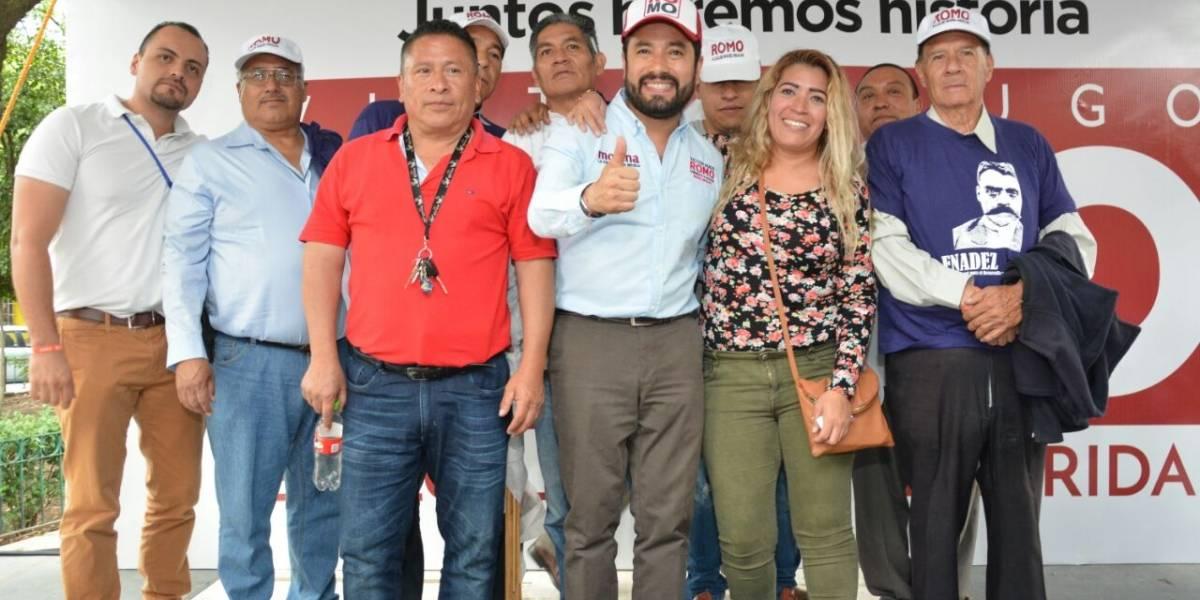 Desbandada en Movimiento Ciudadano; se suman mil militantes a Sheinbaum y Romo