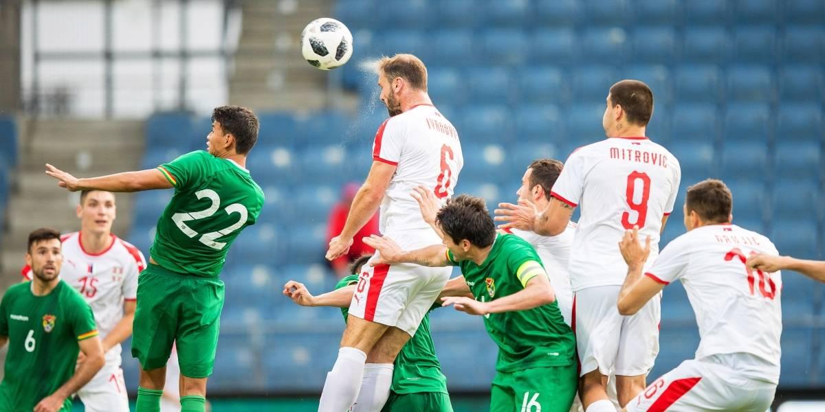 Serbia llega al Mundial volando alto, tras goleada contra Bolivia