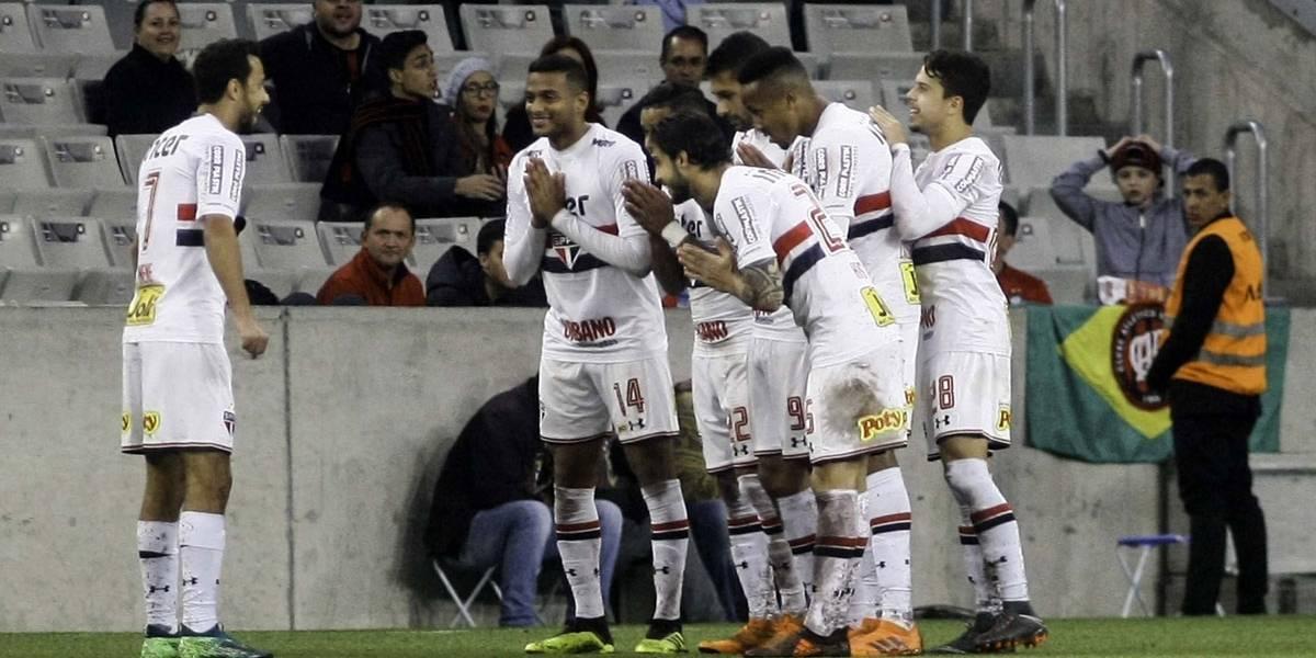 São Paulo x Atlético-PR: Tricolor quebra tabu na Arena da Baixada