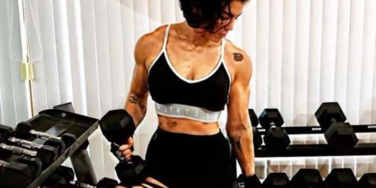 Candidata musculosa recibe críticas por su aspecto físico