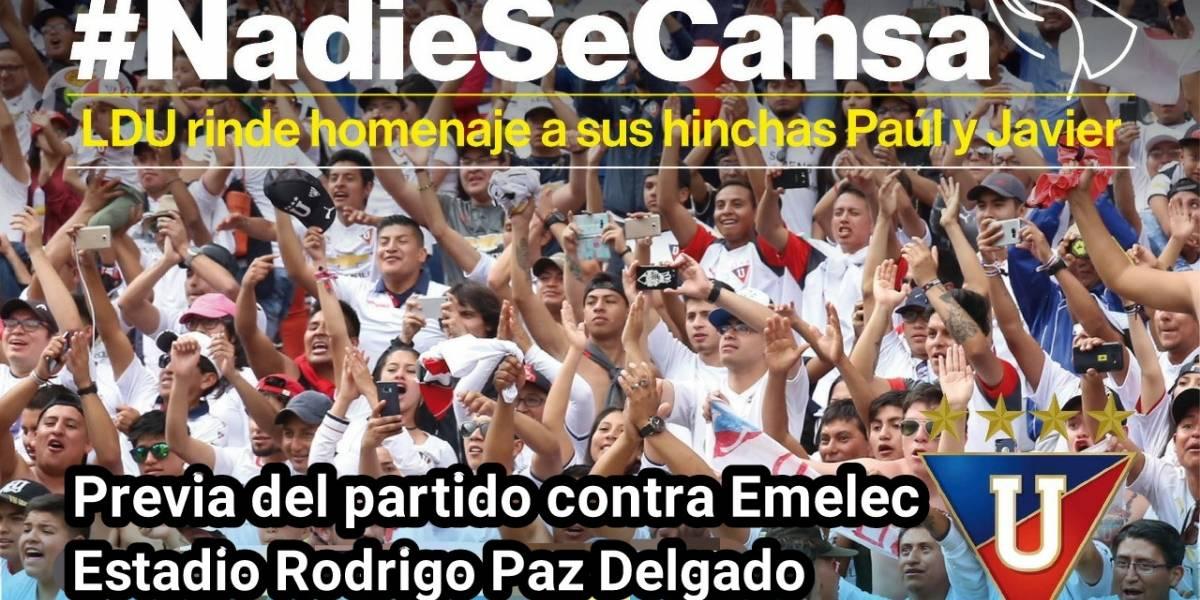 Liga de Quito rendirá homenaje a grupo periodístico de diario El Comercio