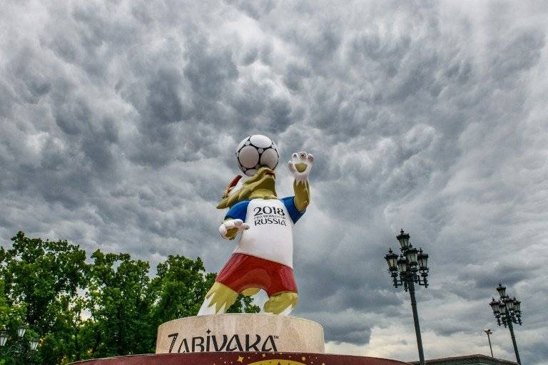 Zabivaka, la mascota del Mundial