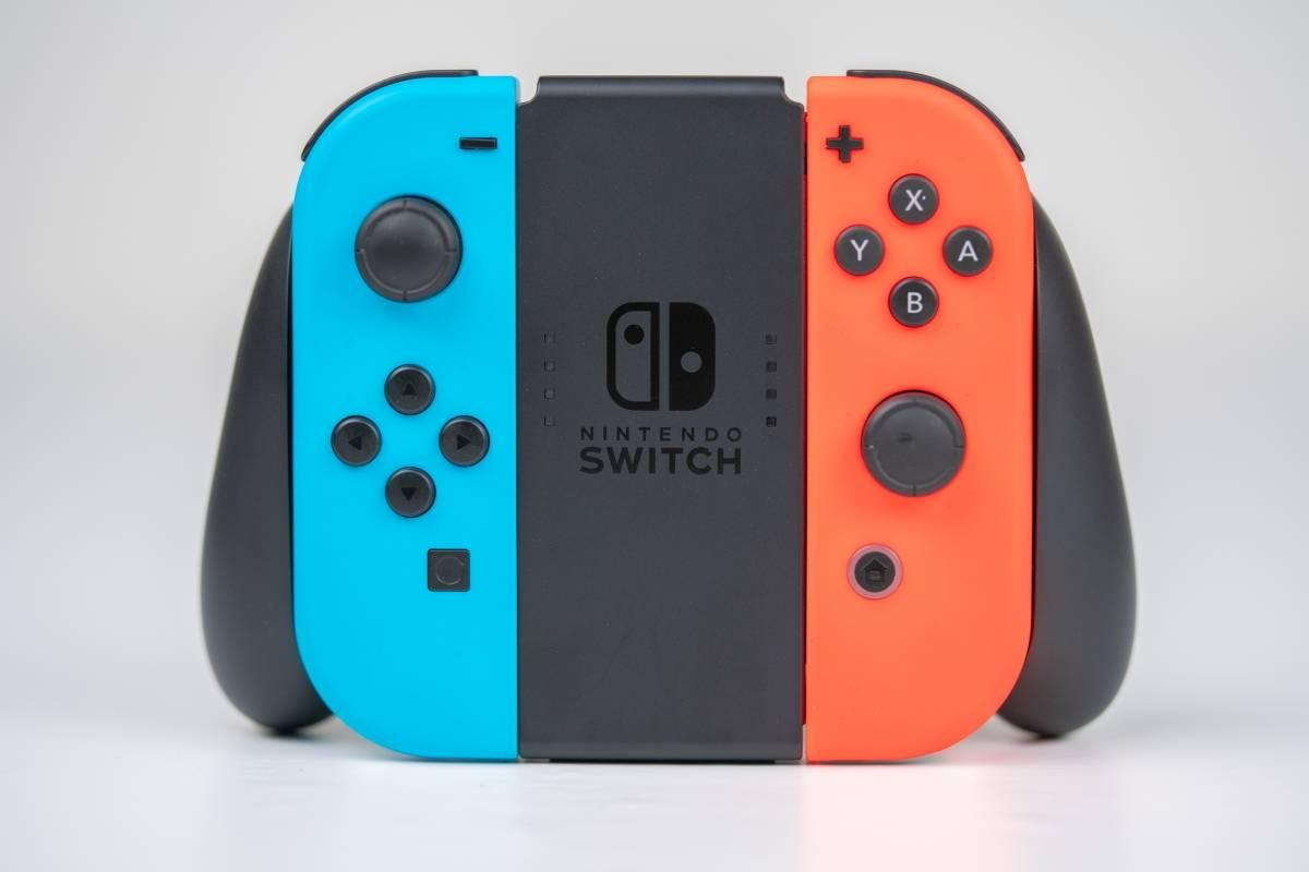 Nintendo Switch Neón Dreamstime