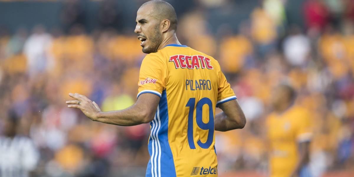 Guido Pizarro mostró su alegría por volver a Tigres