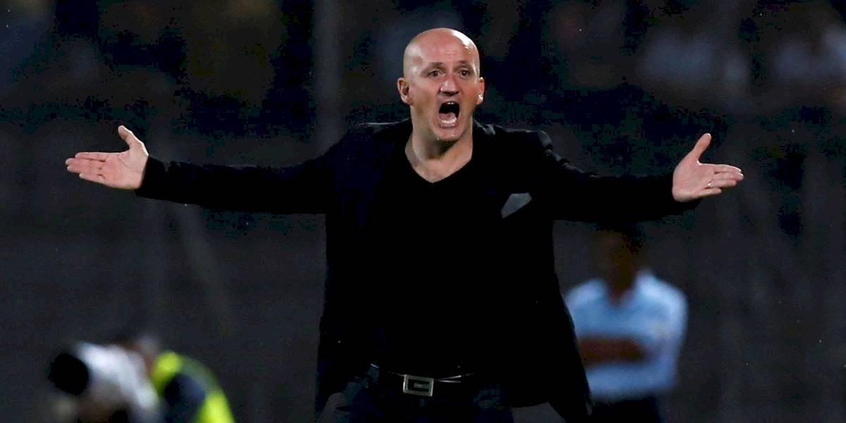 ¿Por qué el DT de Liga de Quito, Pablo Repetto, se enojó con la prensa?