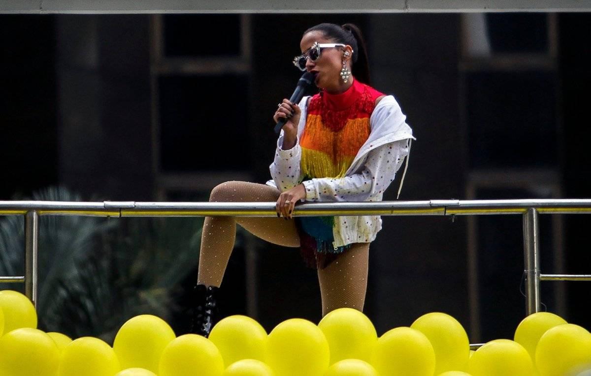 La brasileña ha sido considerada una pionera como intérprete femenina de reguetón. Foto: AFP