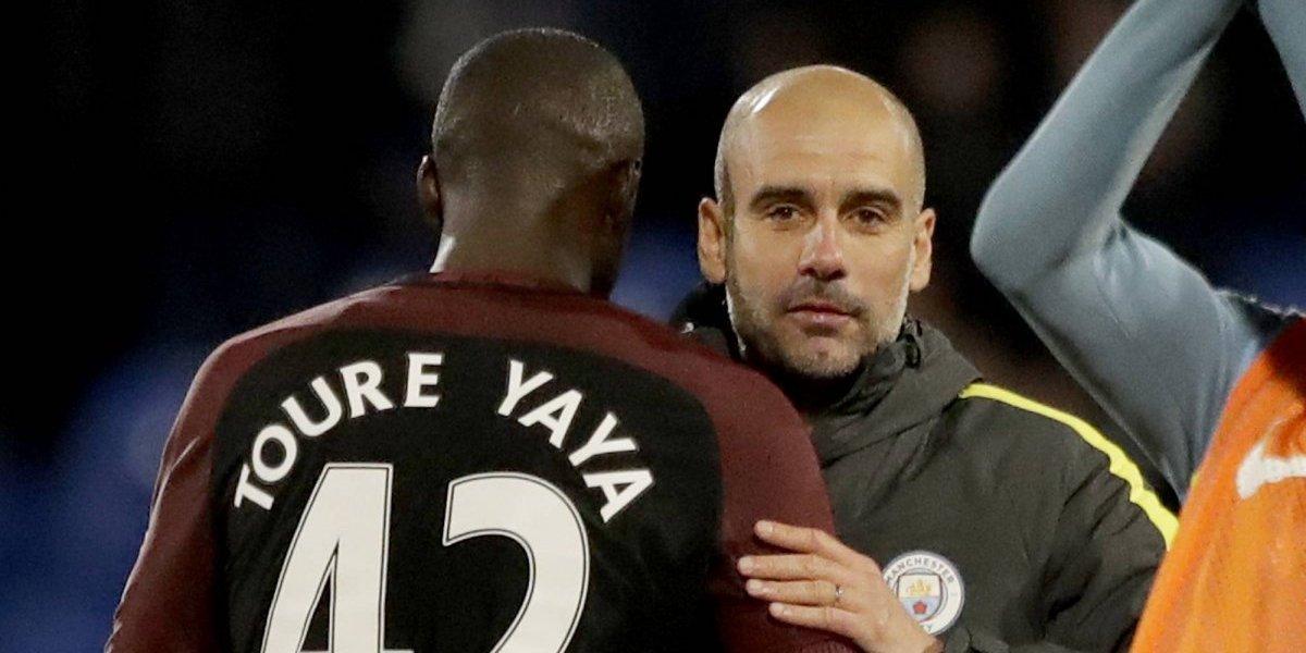 Pep Guardiola le respondió a Yaya Touré por las acusaciones de racismo