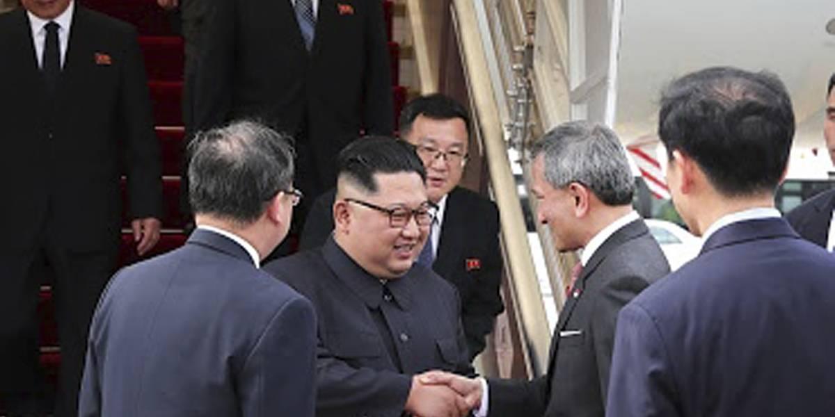 Arriban a Singapur Donald Trump y Kim Jong Un para cumbre