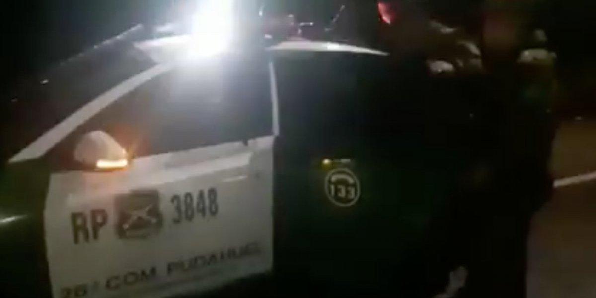 Detienen a presunto femicida en Pudahuel: habría asesinado a amante y le prendió fuego dentro de un tambor